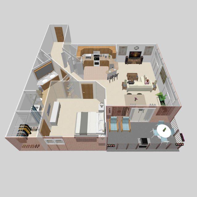 One Bedroom B
