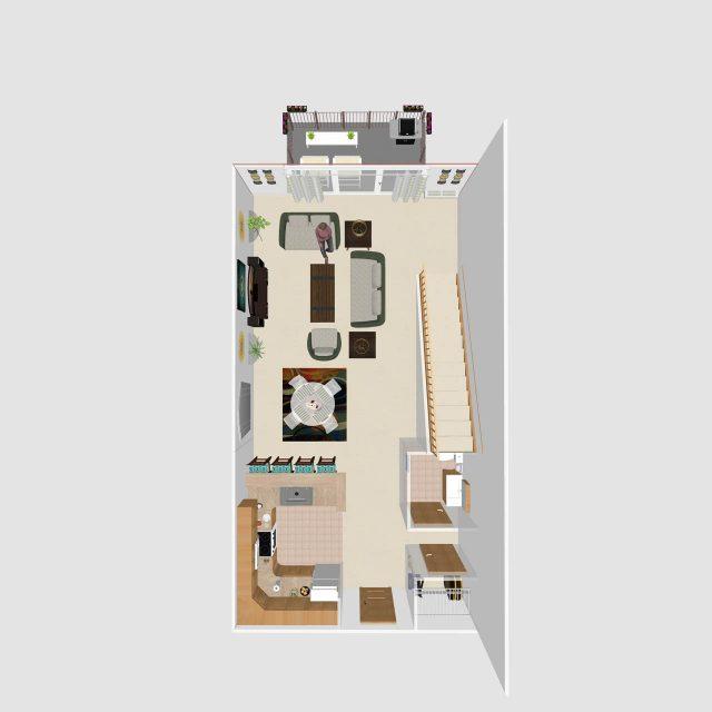 One Bedroom Loft E