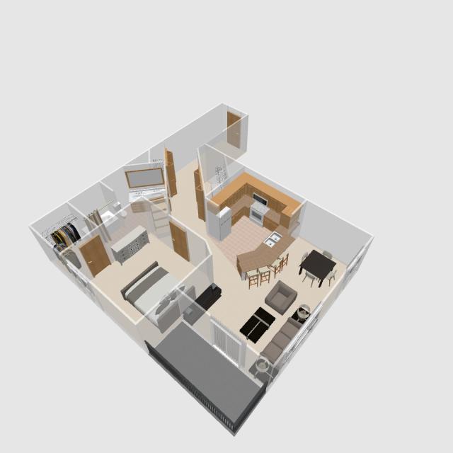 1 BR B | Prairie Crest Apartments | Verona, WI