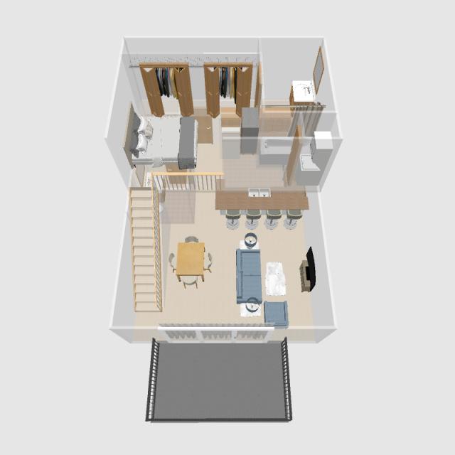 1 BR Loft | Prairie Crest Apartments | Verona, WI