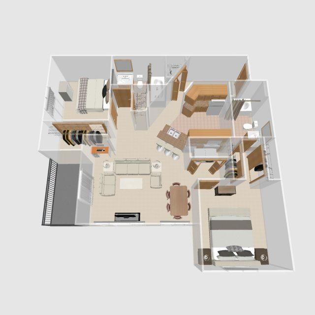 2 BR G | Prairie Crest Apartments | Verona, WI