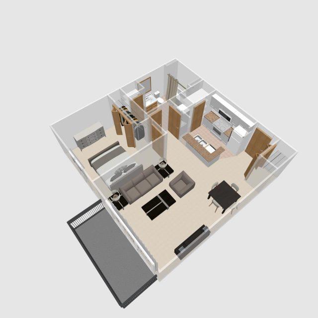 1 BR C | Prairie Crest Apartments | Verona, WI