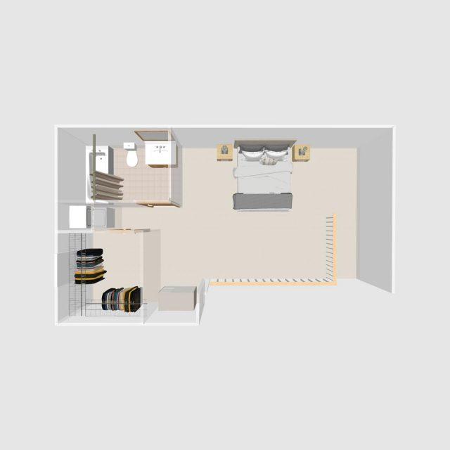2 BR Loft | Prairie Crest Apartments | Verona, WI